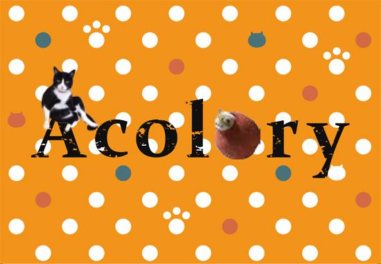 ショップカード85・54(Acolory表)